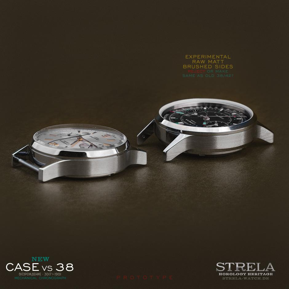 Strela 38mm vs. 40mm